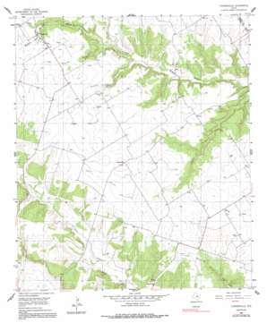 Turnersville topo map