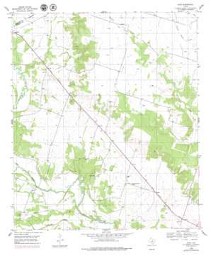 Ater topo map