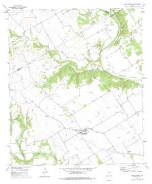 China Springs topo map