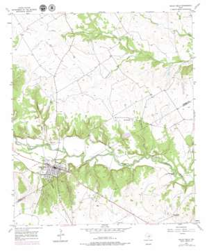 Valley Mills USGS topographic map 31097f4