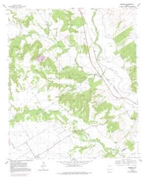 Mosheim USGS topographic map 31097f5