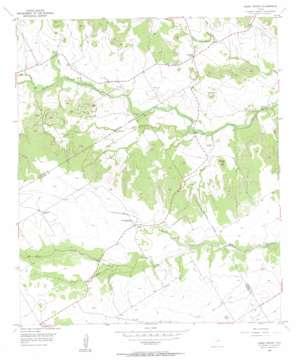 Hurst Spring topo map