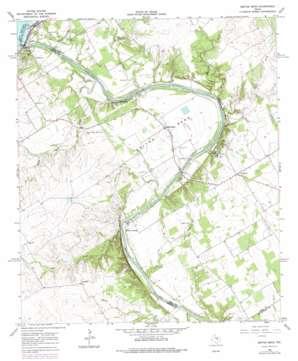 Smiths Bend topo map