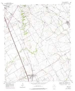 Abbott USGS topographic map 31097h1