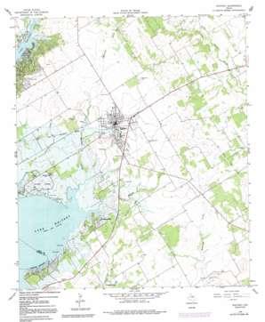 Whitney topo map