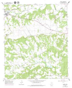 Iredell topo map