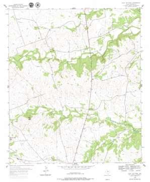Flat Top Peak topo map