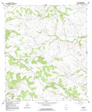 Ogles USGS topographic map 31098b3