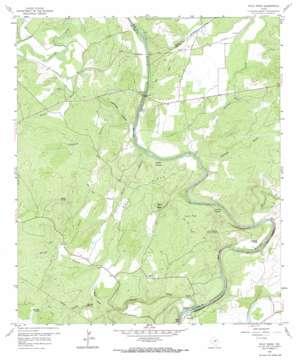 Wolf Ridge topo map