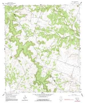 Izoro topo map