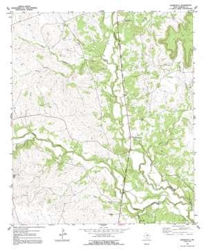 Adamsville topo map