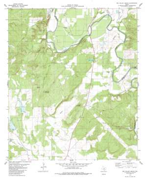Big Valley South topo map