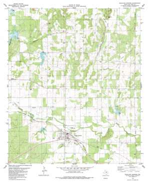 Richland Springs topo map