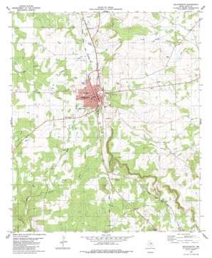 Goldthwaite USGS topographic map 31098d5