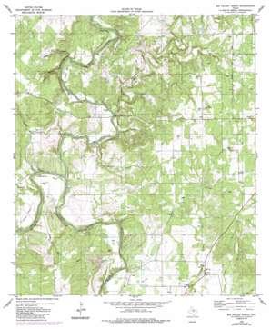 Big Valley North topo map