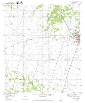 Hamilton West topo map