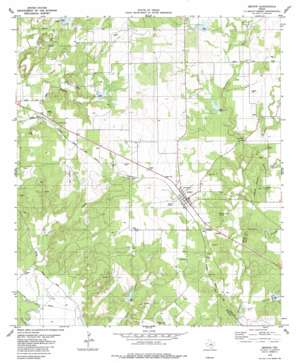 Zephyr topo map