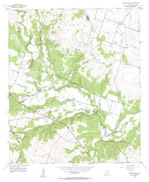 Gentrys Mill USGS topographic map 31098g2