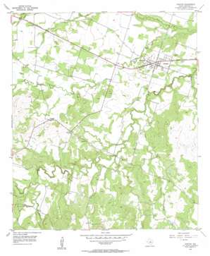 Gustine USGS topographic map 31098g4