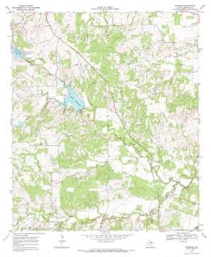 Newburg topo map
