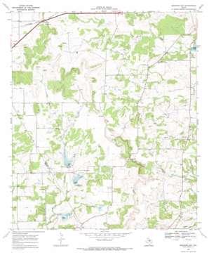 Mercers Gap USGS topographic map 31098g6