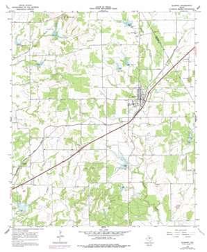 Blanket topo map