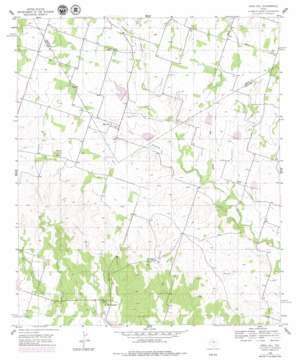Edna Hill topo map