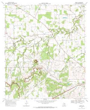 Sidney topo map