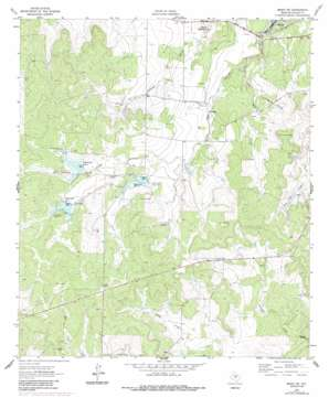 Brady Sw topo map