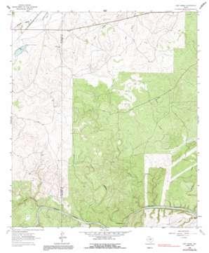 Lost Creek topo map