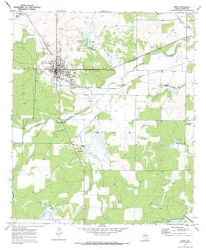 Eden topo map