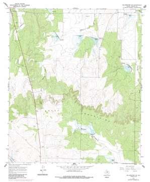 Millersview Se topo map
