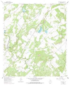 Brookesmith topo map