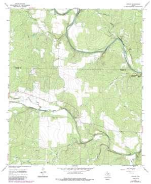 Concho USGS topographic map 31099e7