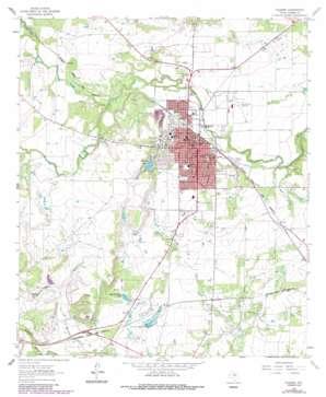 Coleman topo map