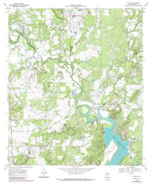 Byrds topo map