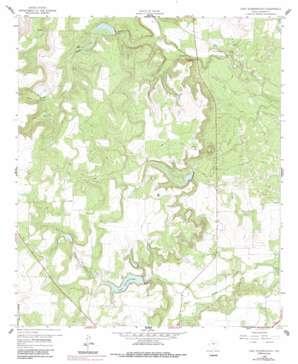 Lake Scarborough topo map
