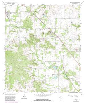 Novice East topo map