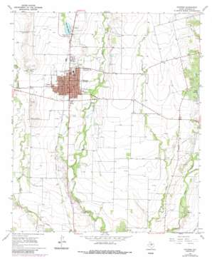 Winters topo map
