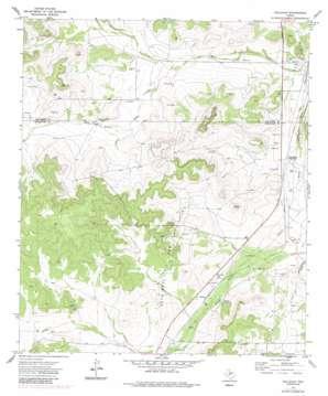 Hulldale topo map