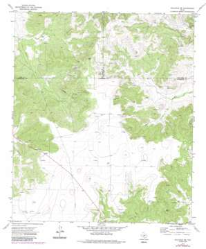 Hulldale Sw topo map