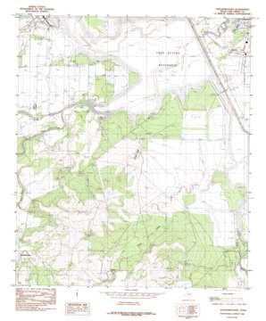Knickerbocker topo map