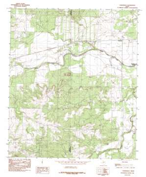 Tankersley topo map