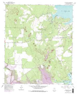 Twin Buttes topo map