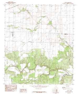 Lowake topo map