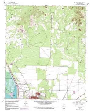 San Angelo North topo map