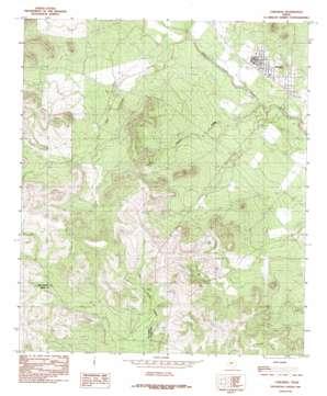 Carlsbad topo map