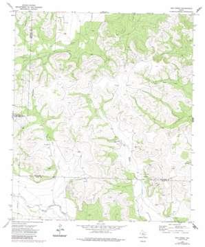 Dog Creek topo map