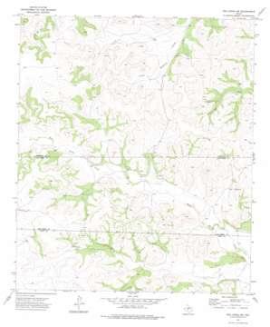 Dog Creek Sw topo map
