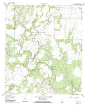 Maverick USGS topographic map 31100g2